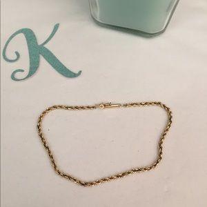 Jewelry - 14K Gold Rope Twist Bracelet